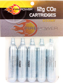 FIREPOWER 12g CO2 Cartridges