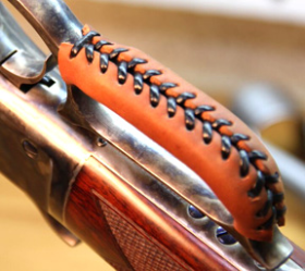 Custom Leather Lever Wrap for Lever-Action Rifles