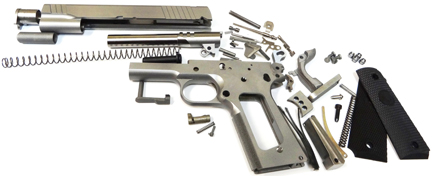 80 1911 Kit Stainless Steel Frame